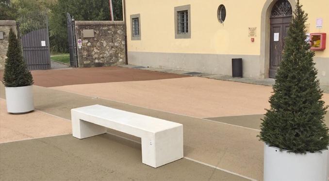 Trafik och milj innovationer gatum bler i betong for Helios arredo urbano